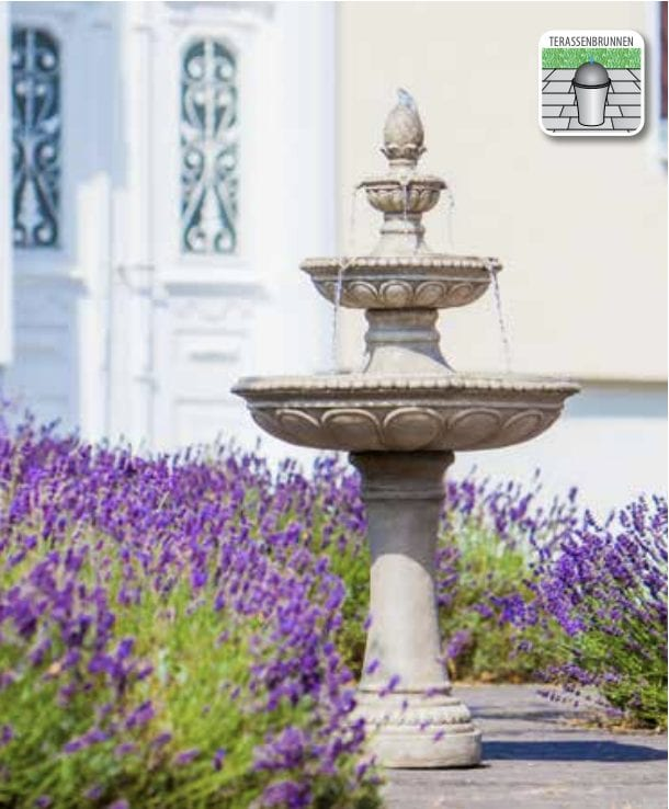 ravenna self contained water feature