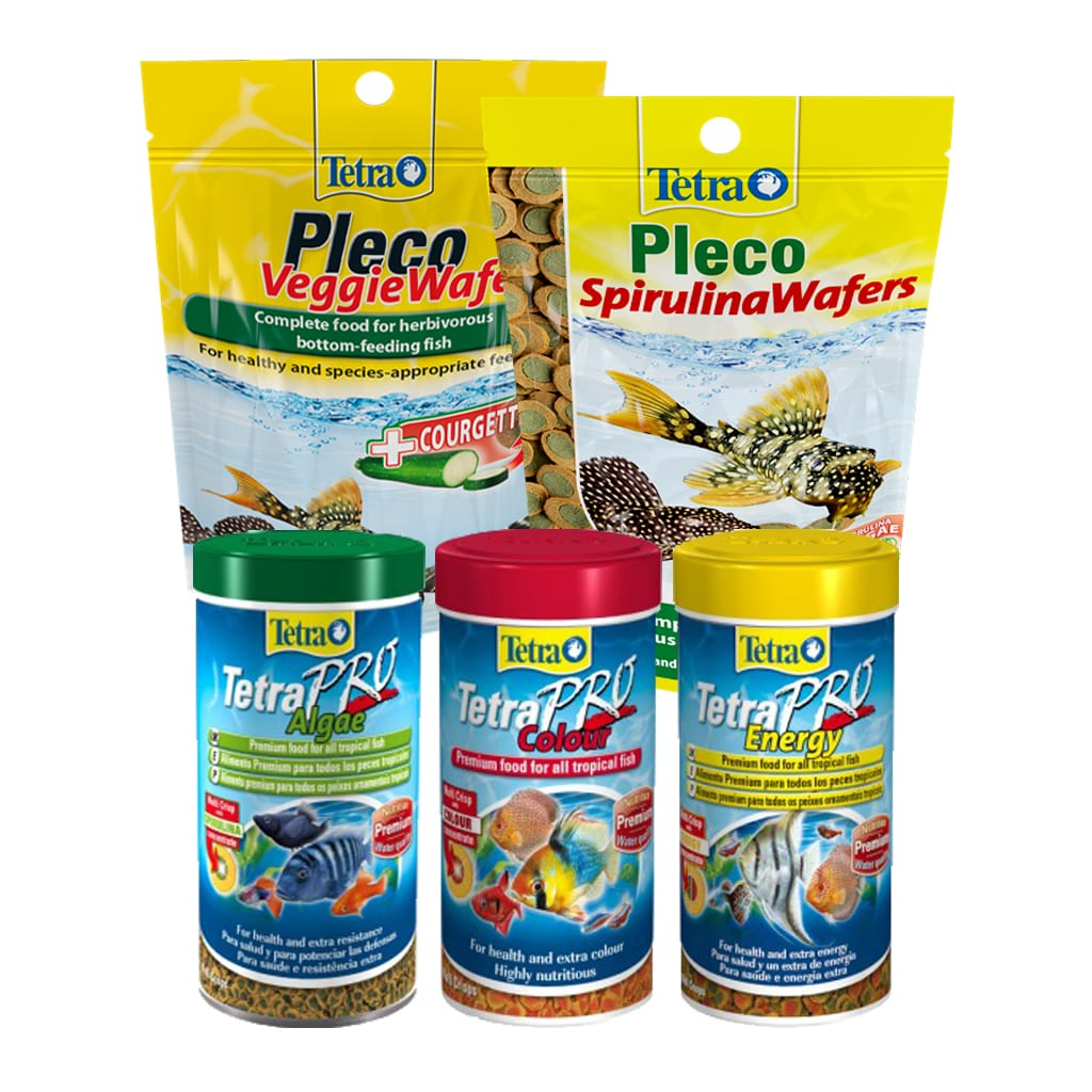Tetra March Deal tetra pro food with pleco wafers