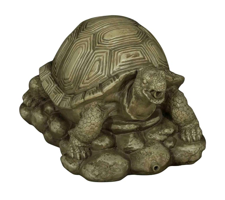 bermuda pond spitter decorative animal water features turtle